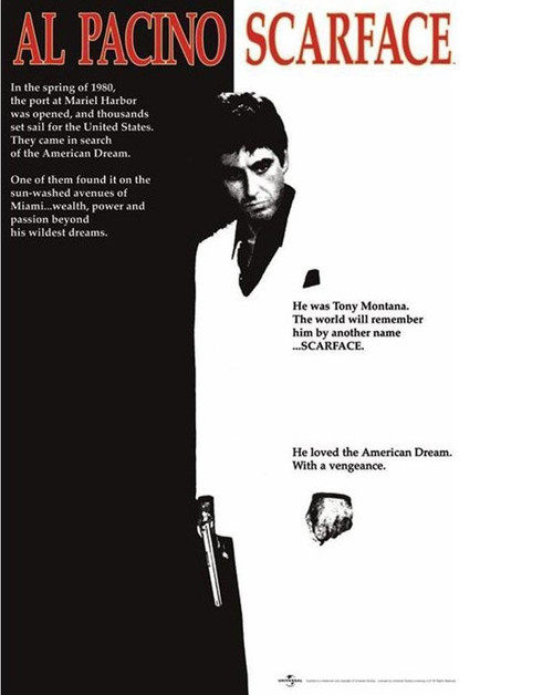 Image for Scarface Movie Poster