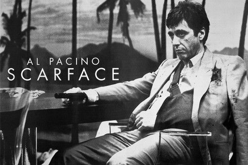 Image for Scarface Poster - Palm Trees