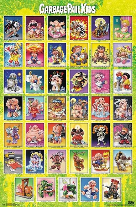 Image for Garbage Pail Kids Poster
