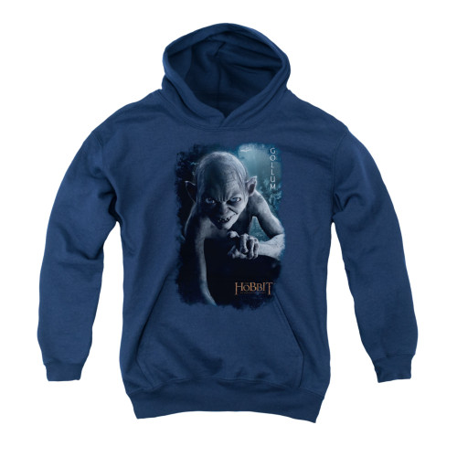 Image for The Hobbit Youth Hoodie - Gollum Poster
