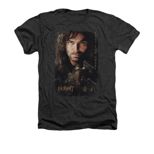 Image for The Hobbit Heather T-Shirt - Kili Poster