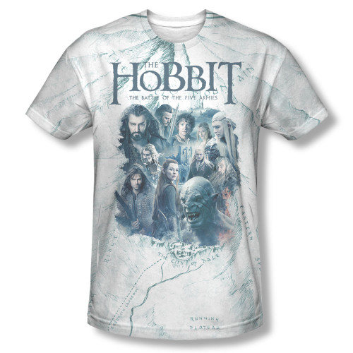 Image Closeup for The Hobbit Sublimated T-Shirt - Ready for Battle
