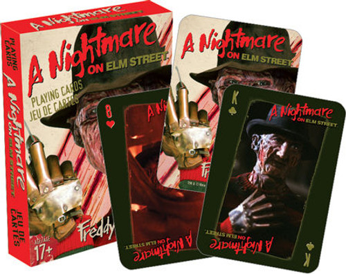 Image for Nightmare on Elm Street Playing Cards