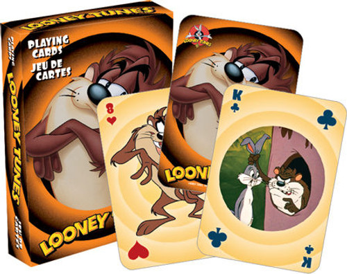 Image for Looney Tunes Taz Playing Cards