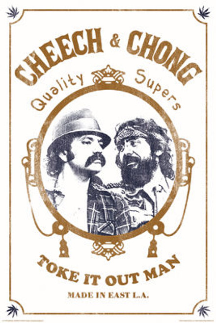 Image for Cheech & Chong Poster - Toke