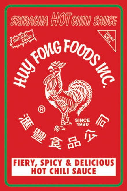 Image for Sriracha Poster - Label