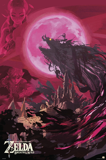 Image for Zelda Poster - Blood Moon