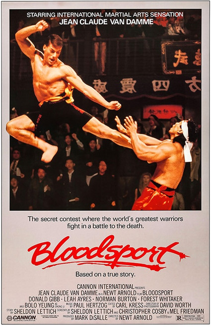 Image for Bloodsport One Sheet Poster