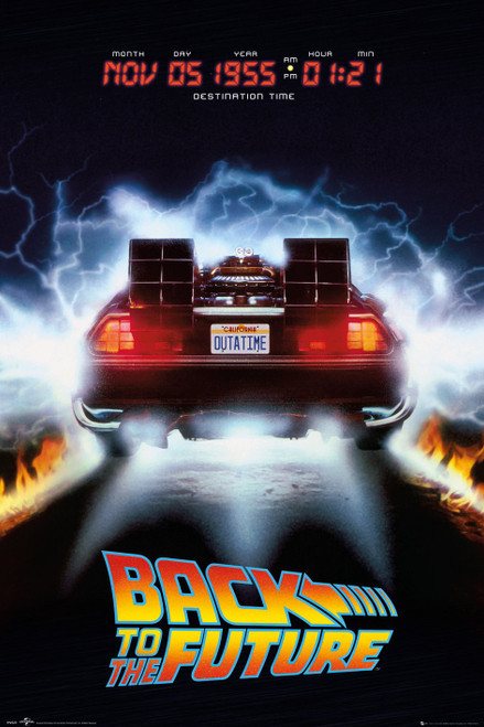 Image for Back to the Future Poster - Deloreon