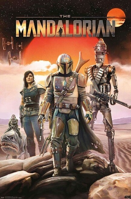 Image for Star Wars Mandalorian Poster - Group