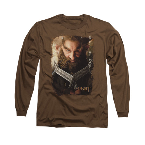 Image for The Hobbit Long Sleeve T-Shirt - Nori