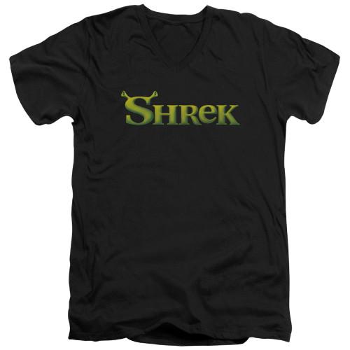 Image for Shrek V-Neck T-Shirt Logo