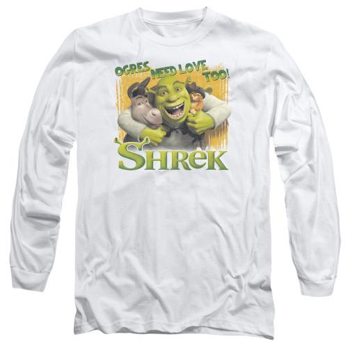 Image for Shrek Long Sleeve T-Shirt - Ogres Need Love