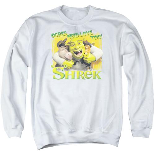 Image for Shrek Crewneck - Ogres Need Love