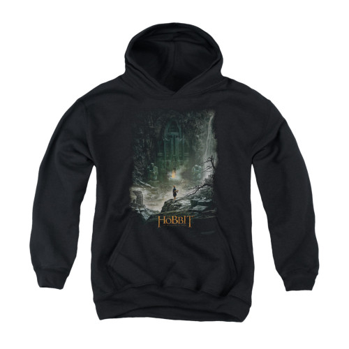 Image for The Hobbit Youth Hoodie - At Smaug's Door