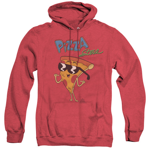 Image for Uncle Grandpa Heather Hoodie - Pizza Steve