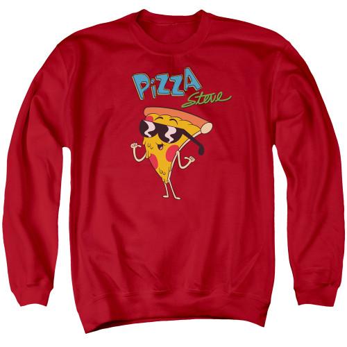 Image for Uncle Grandpa Crewneck - Pizza Steve