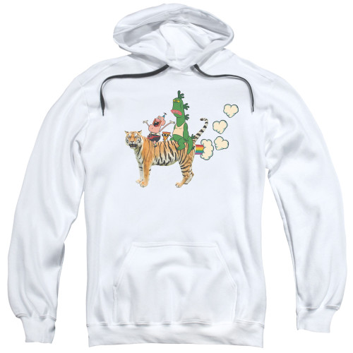 Image for Uncle Grandpa Hoodie - Fart Hearts