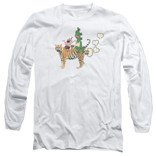 Image for Uncle Grandpa Long Sleeve T-Shirt - Fart Hearts