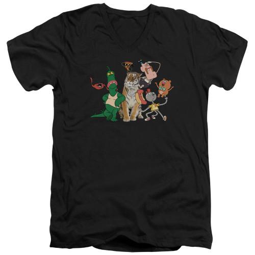 Image for Uncle Grandpa V-Neck T-Shirt Group
