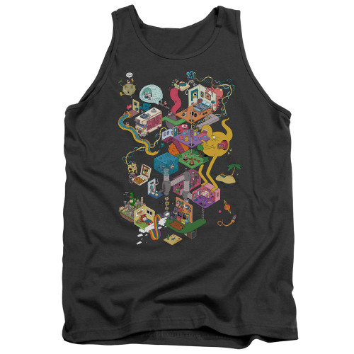 Image for Uncle Grandpa Tank Top - Inside the RV