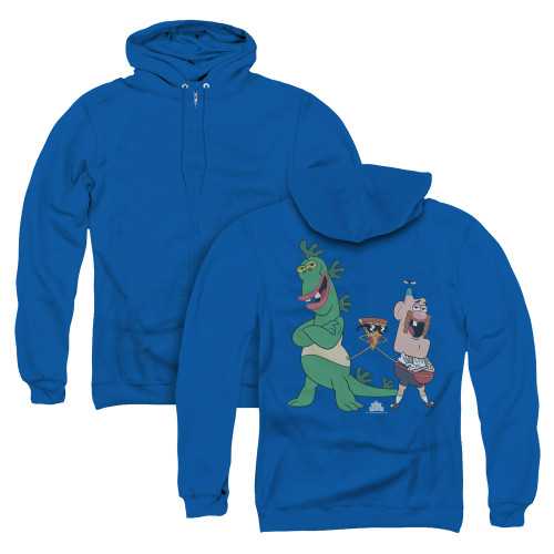 Image for Uncle Grandpa Zip Up Back Print Hoodie - The Guys