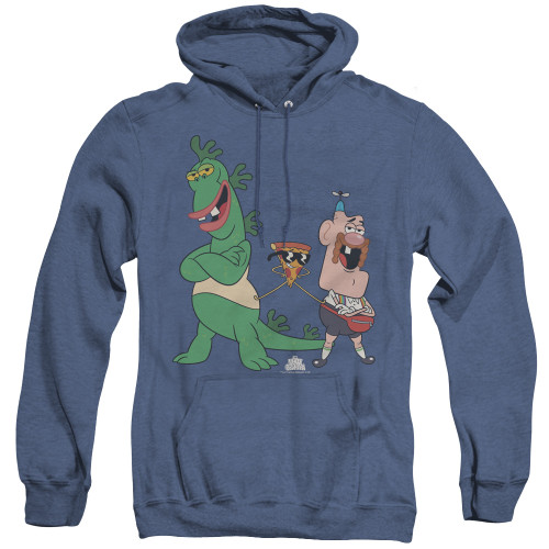 Image for Uncle Grandpa Heather Hoodie - The Guys