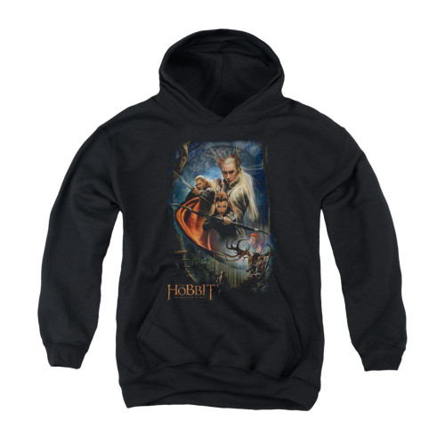 Image for The Hobbit Youth Hoodie - Thranduil's Realm