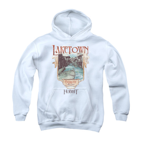 Image for The Hobbit Youth Hoodie - Laketown