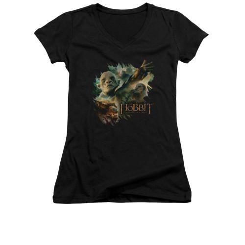 Image for The Hobbit Girls V Neck T-Shirt - Baddies