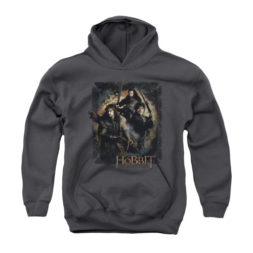 Image for The Hobbit Youth Hoodie - Weapons Drawn