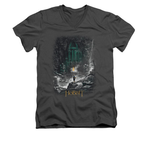 Image for The Hobbit V-Neck T-Shirt - Second Thoughts