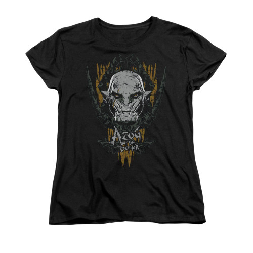 Image for The Hobbit Woman's T-Shirt - Azog