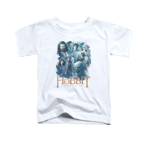 Image for The Hobbit Toddler T-Shirt - Main Characters