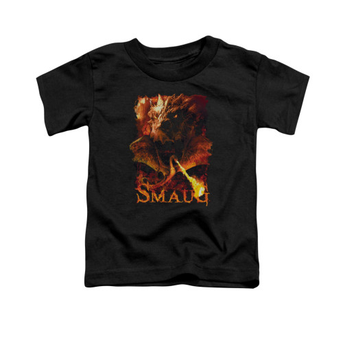 Image for The Hobbit Toddler T-Shirt - Smolder