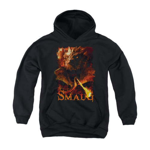 Image for The Hobbit Youth Hoodie - Smolder