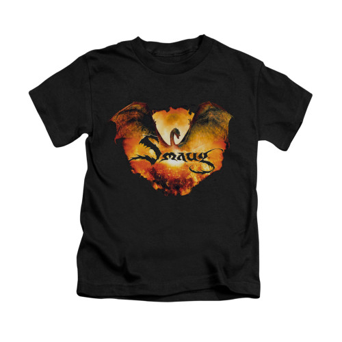 Image for The Hobbit Kids T-Shirt - Reign in Flame