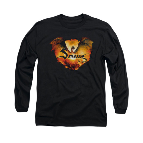 Image for The Hobbit Long Sleeve T-Shirt - Reign in Flame