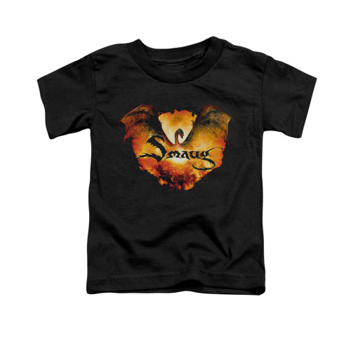 Image for The Hobbit Toddler T-Shirt - Reign in Flame