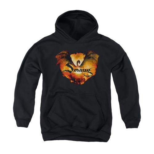 Image for The Hobbit Youth Hoodie - Reign in Flame