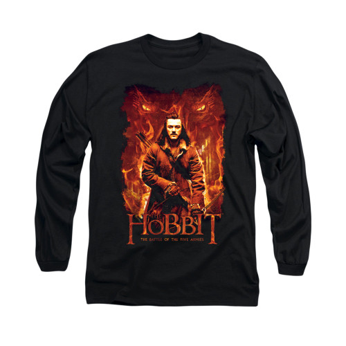 Image for The Hobbit Long Sleeve T-Shirt - Fates