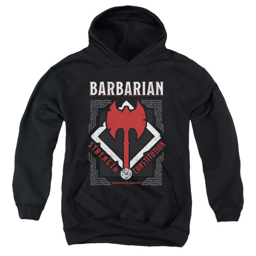 Image for Dungeons and Dragons Youth Hoodie - Barbarian