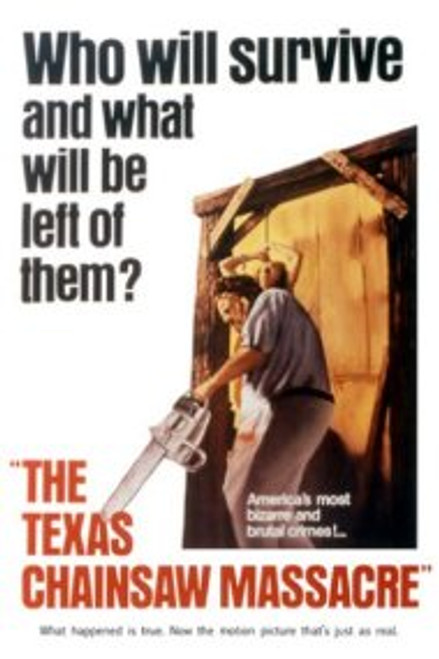 Image for Texas Chainsaw Massacre Poster - Leatherface