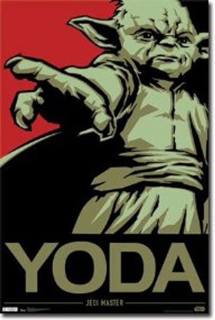 Image for Star Wars Poster - Yoda Jedi Master