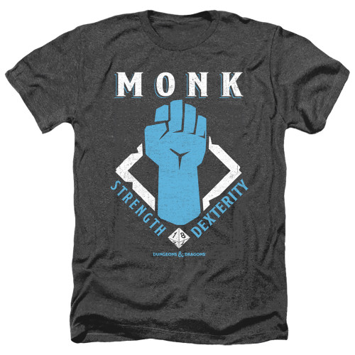 Image for Dungeons and Dragons Heather T-Shirt - Monk