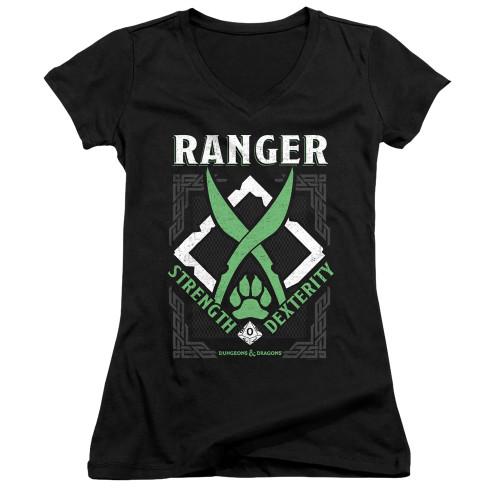 Image for Dungeons and Dragons Girls V Neck T-Shirt - Ranger