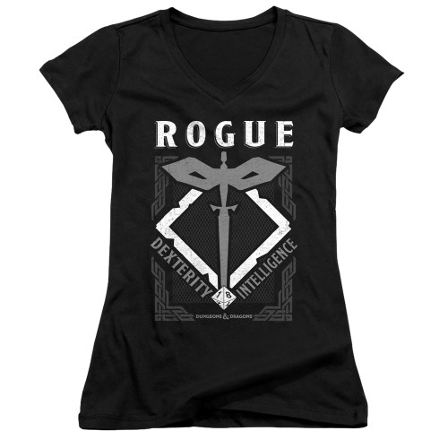 Image for Dungeons and Dragons Girls V Neck T-Shirt - Rogue