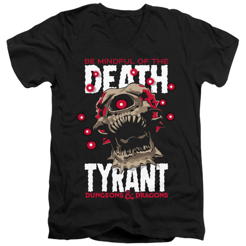 Image for Dungeons and Dragons T-Shirt - V Neck - Death Tyrant