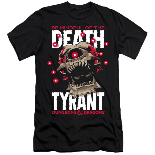 Image for Dungeons and Dragons Premium Canvas Premium Shirt - Death Tyrant