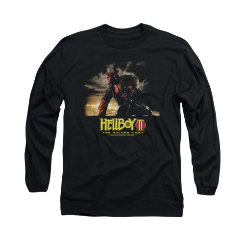 Image for Hellboy II Long Sleeve T-Shirt - Poster Art